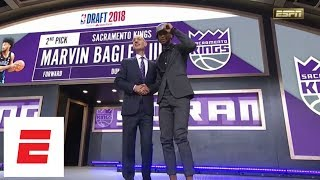 Kings take Marvin Bagley III with No. 2 pick in 2018 NBA draft [pick/analysis/interview] | ESPN