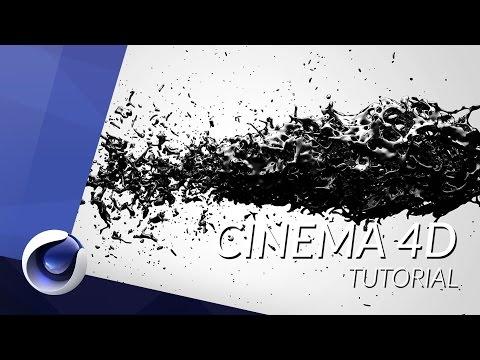 HOW TO CREATE LIQUIDS IN CINEMA 4D