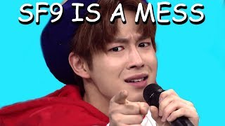 SF9 being a mess on asc