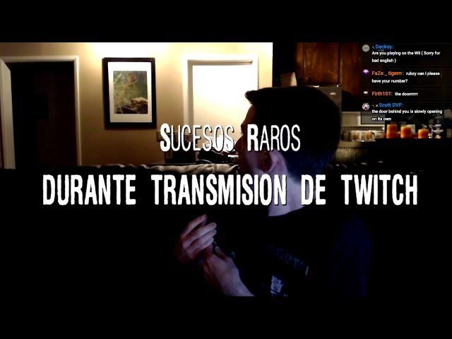 Sucesos paranormales durante transmisión