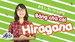 Học bảng chữ cái tiếng Nhật Hiragana trong 10 phút
