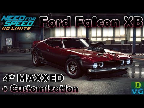 NFS No Limits | Ford Falcon XB Coupe - 4 stars MAXXED | Cust