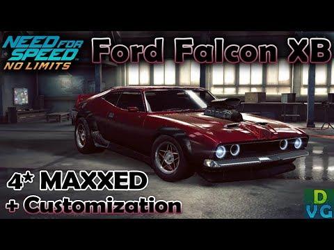 NFS No Limits | Ford Falcon XB Coupe - 4 stars MAXXED | Customization + Upgrade