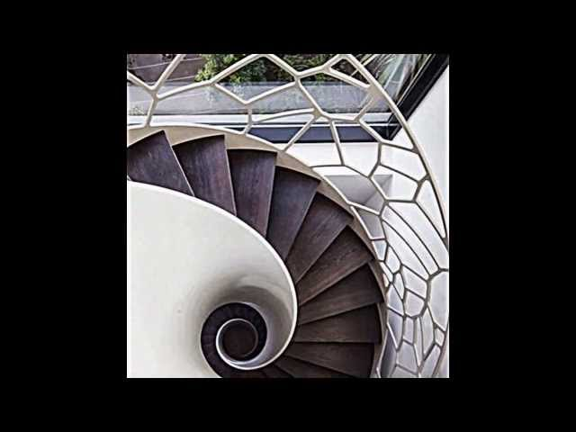 schwebendes Treppenhaus Zaha Hadid