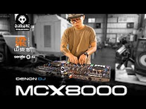 Denon DJ mcx8000 DJ Smile Graffic Performance Taiwan Offcial Video