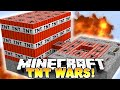 Minecraft - SUICIDE TNT CANNONS!? (TNT WARS) - w/ THE PACK!