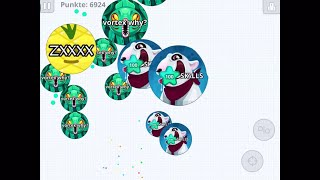 AMAZING PRESPLITS/ INSANE MOMENTS/ AGARIO MOBILE GAMEPLAY/ SKILLS