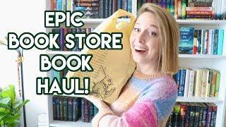 EPIC Bookstore Book Haul!