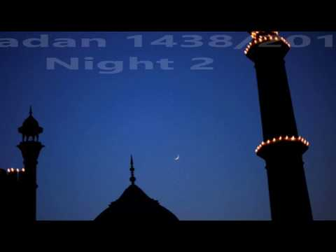 Taraweeh Prayer - IISC Mosque Calgary - Ramadan 2017 - Night 2