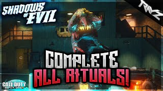 Black Ops 3 Zombies: How To Complete All Rituals & Open Pack-A-Punch In Shadows Of Evil! (Zombies)