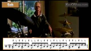 Best Drum Lesson | Ginger Baker Paradiddle Exercise 2014
