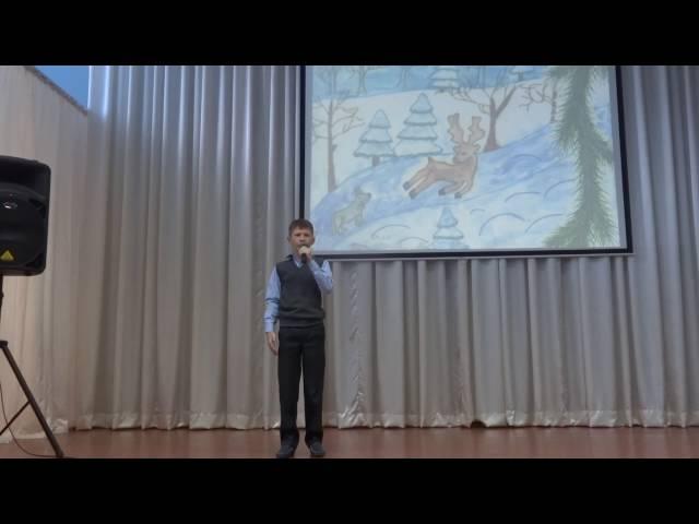 Илья Водопьянов читает произведение «Густой зеленый ельник у дороги» (Бунин Иван Алексеевич)