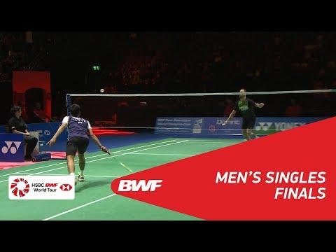 MS | Jan O JORGENSEN (DEN) vs Sameer VERMA (IND) [2] | BWF 2018