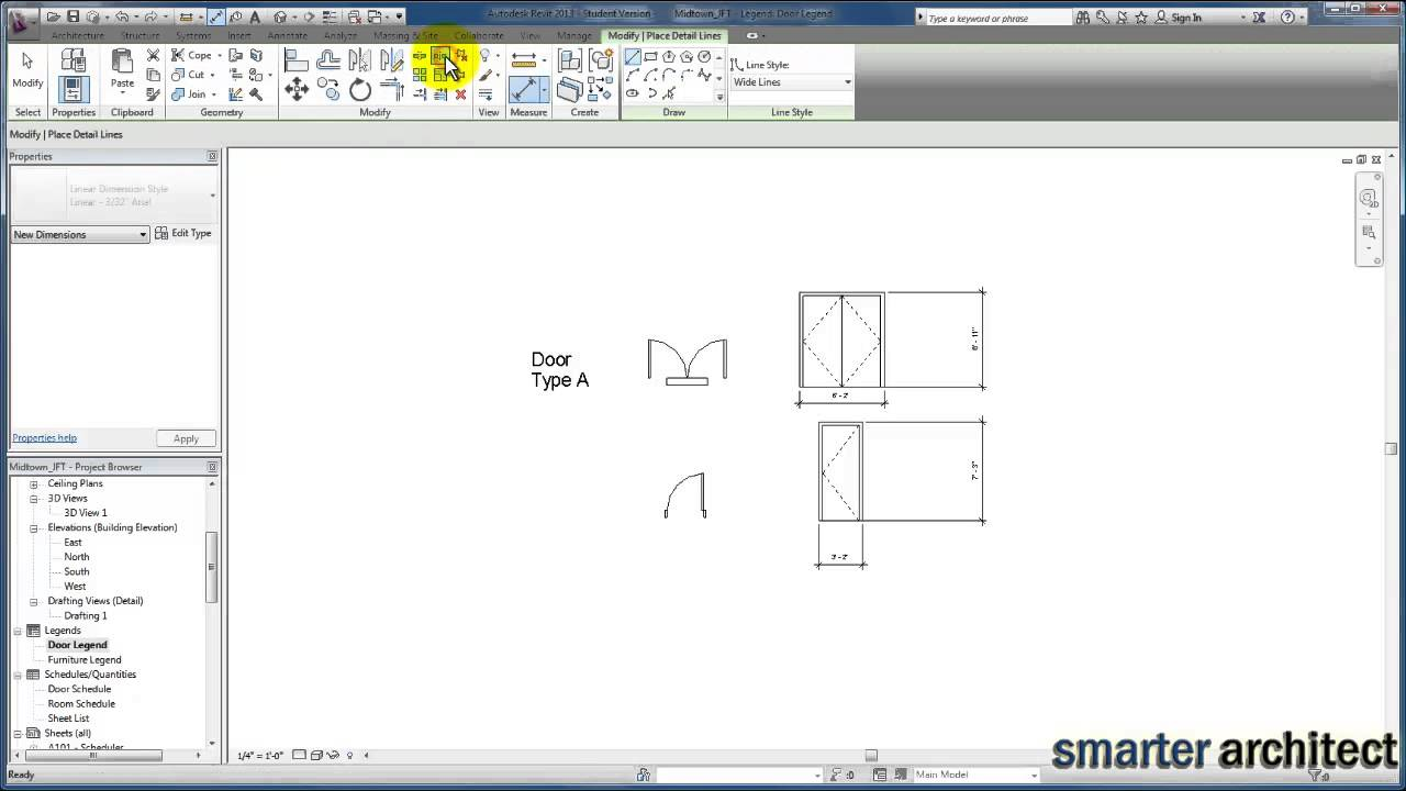 Revit Tutorials Detailing Creating Component Legends