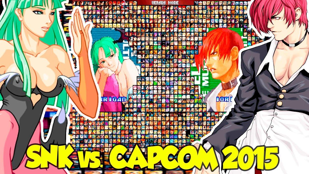 jogo snk vs capcom ultimate mugen