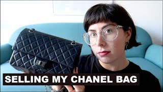 WHY IM SELLING MY CHANEL HANDBAG | Chanel 2.55 Reissue Small