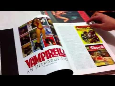 Libro El arte de Vampirella los años de Warren