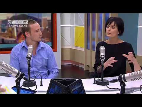 Panel: Lisa Owen and James Somerset