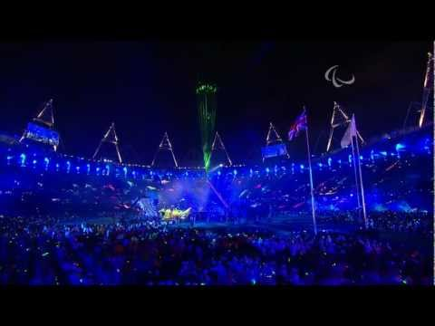Coldplay  Clocks  716   @ Paralympic Games Closing Ceremony 2012