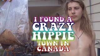 Drove into a total Hippie Town in Canada! - Earth Story Episode 13