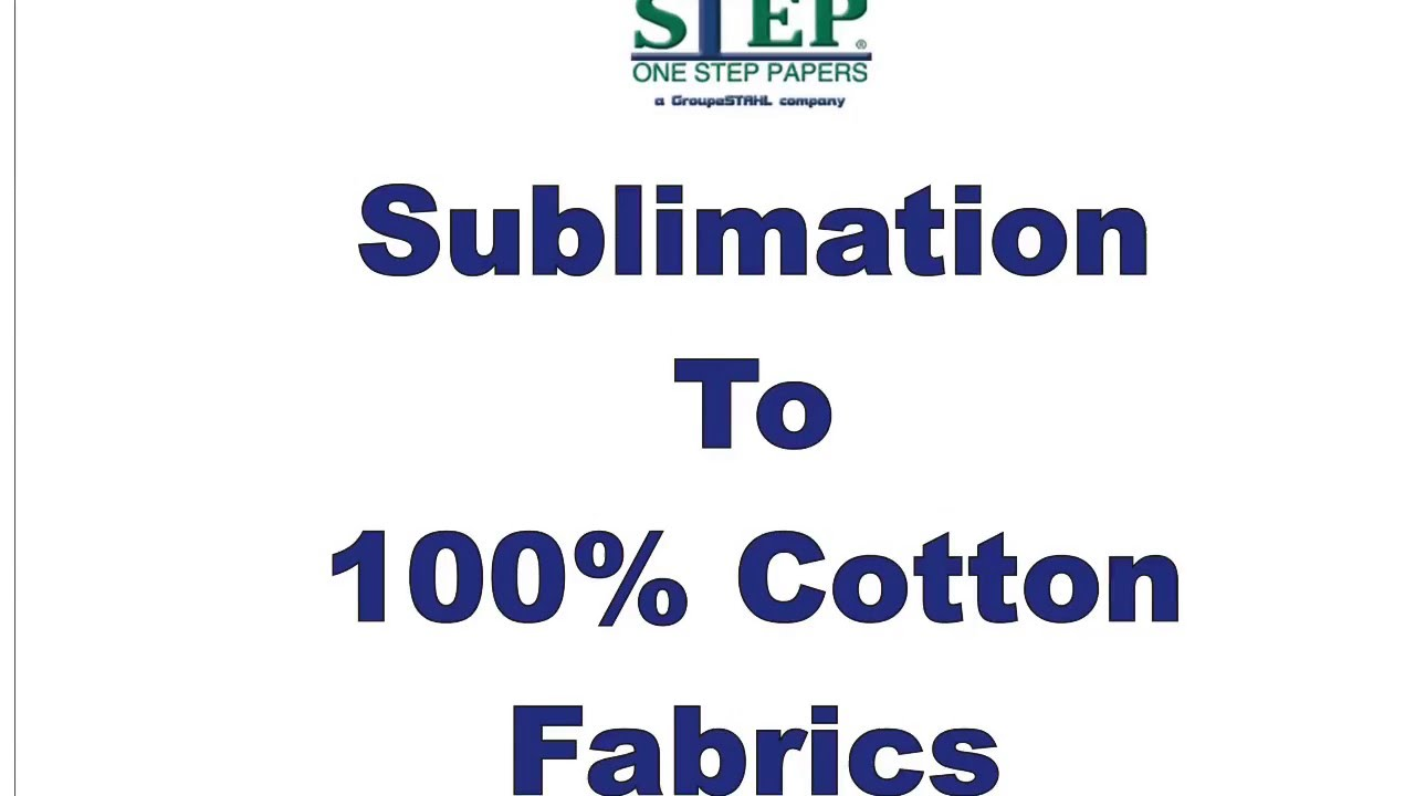 Sublimation to Cotton