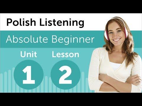 Learn Polish - Polish Listening - At a Restaurant in Poland