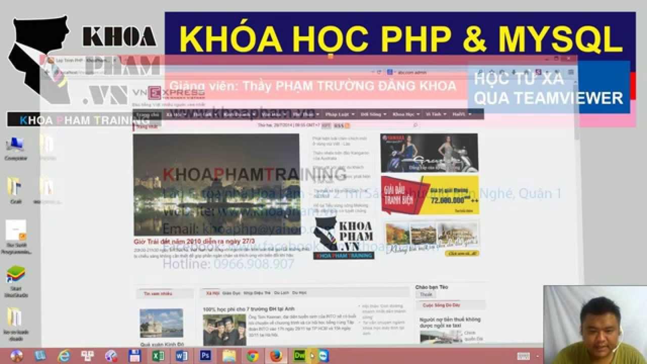 Lập trình PHP - Bài 29: Hướng dẫn đăng kí hosting free & Upload trang web