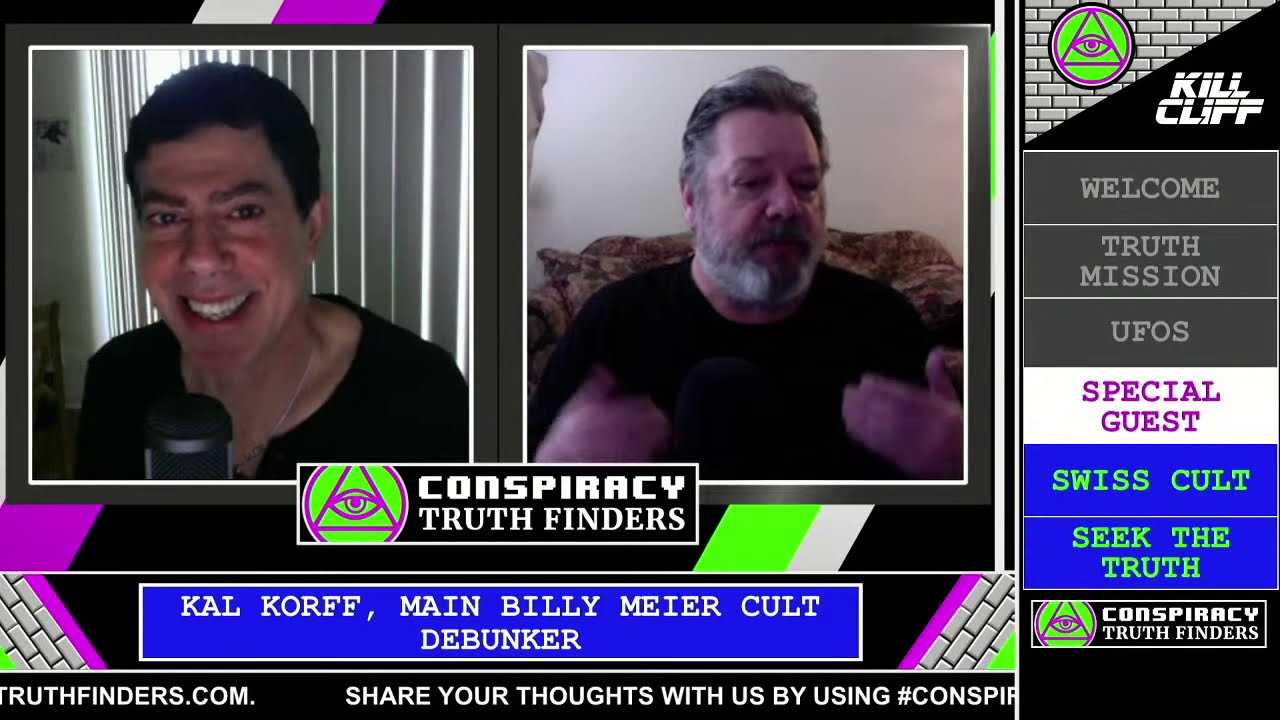 Debunking Billy Meier UFO Cult on Conspiracy Truth Finders with Bob Kiviat