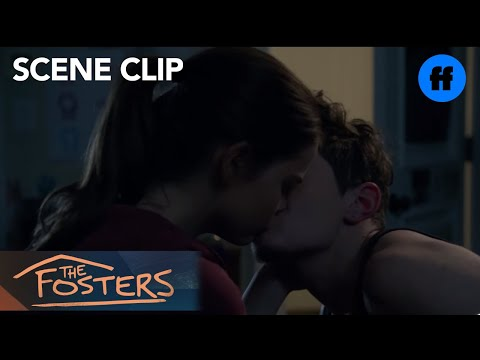 The Fosters | Season 4, Episode 18: Callie and Aaron Kiss | Freeform