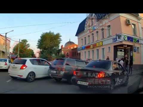 Стрельба в Калуге на пересечении ул. Дзержинского и Театральной