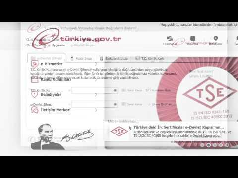 e-Devlet Kapısı - SGK 4A Hizmet Dökümü