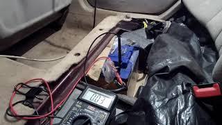 Аккумулятор быстро разряжается. Утечка тока.