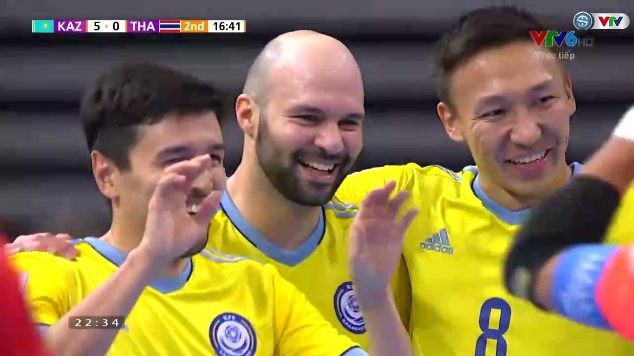 HIGHLIGHTS | ĐT Kazakhstan 7-0 ĐT Thái Lan | Vòng 1/8 FIFA Futsal World Cup Lithuania 2021™