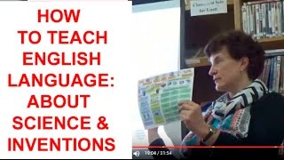 Teaching English about Science and Inventions,  PART-2, Kiev Ukraine