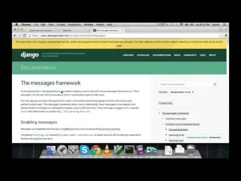 Python Django Building Website Tutorial - Part 2 (without Audio)