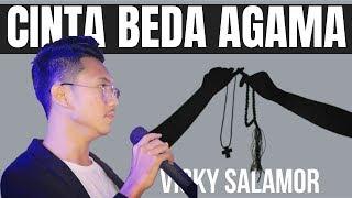 Cinta Beda Agama Lirik Video Vicky Salamor | Lagu Ambon Terpopuler