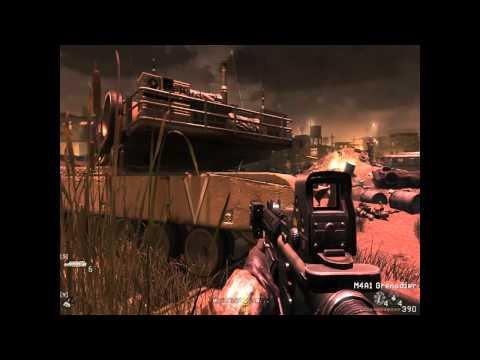 Call of Duty 4 Modern Warfare: Ah ce grele sunt misiunile  part1 [HD]