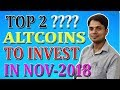 2 Best altcoins to invest now during bearish market and earn huge profit