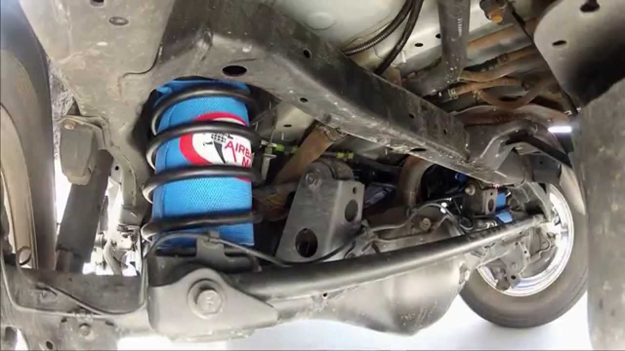 In Action Toyota Prado Air Suspension Cr5035hp Airbag