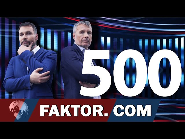 FAKTOR #500: 500. JUBILEJNI FAKTOR (Vladimir Vodušek, Bojan Požar)