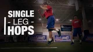 USA Football | Strength and Conditioning | Single Leg Hops