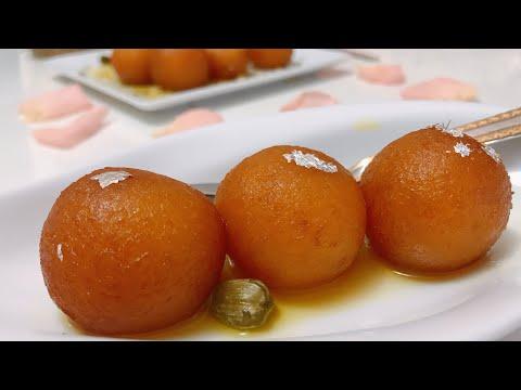 gulab-jamun-/-beignets-indien-sucrés-/-dessert-indien