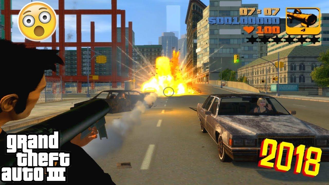 GTA 3 with GTA 4 Game Engine (GTA 4 Mod)