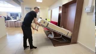 видео Спальня-кабинет: оригинальный дизайн двух зон в одной комнате