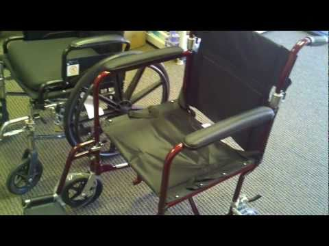 Buy or Rent a Standard Wheelchair or Transport Wheelchair