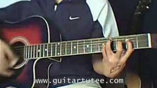 Maybe (of Secondhand Serenade, by www.guitartutee.com)