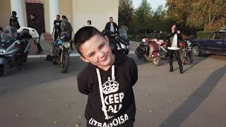 закрытие мото сезона с дрона Середейск сухиничский район