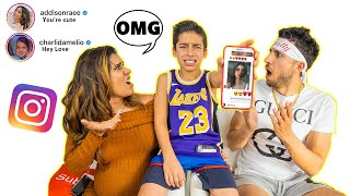 READING Our Son's DM'S On INSTAGRAM! 😱 | The Royalty Family