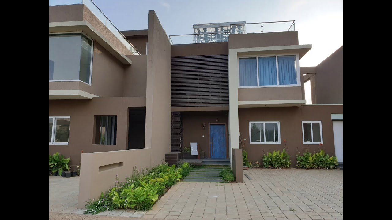 Mont Vert Cresta - 4 and 5 BHK Luxury Villa near Lonavala