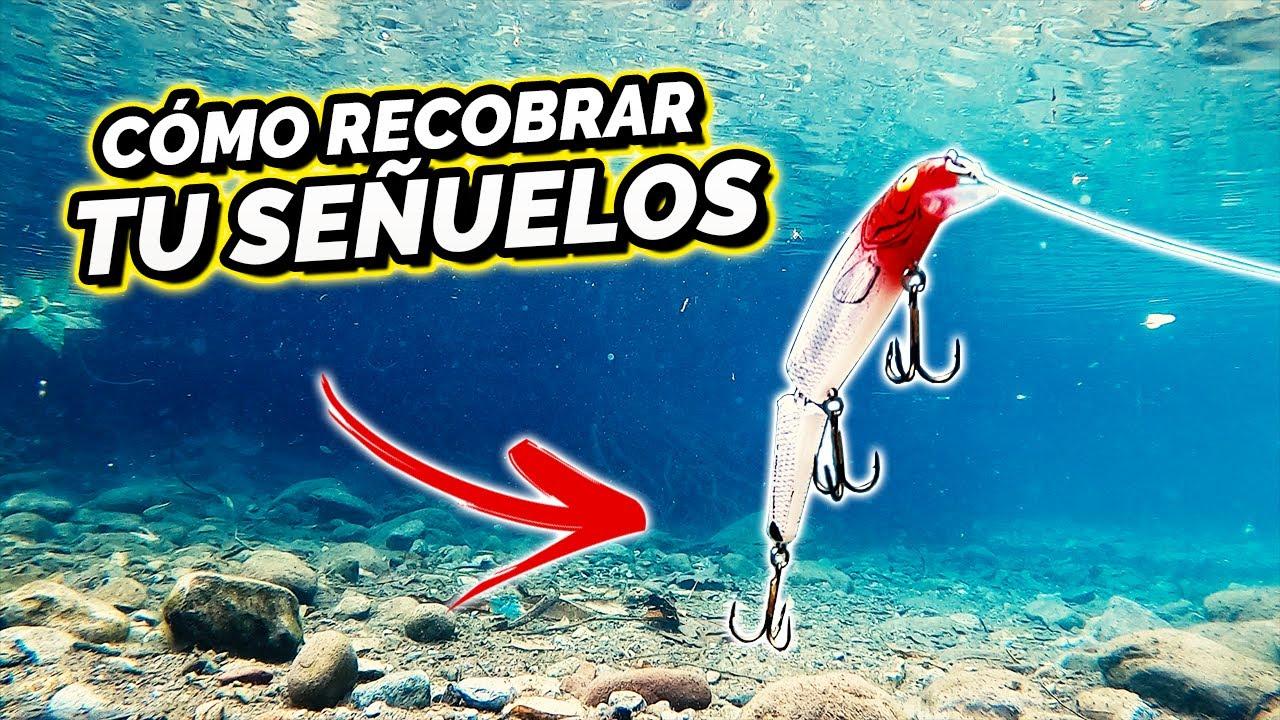 Cómo MOVER LOS SEÑUELOS para pescar BAJO EL AGUA!!